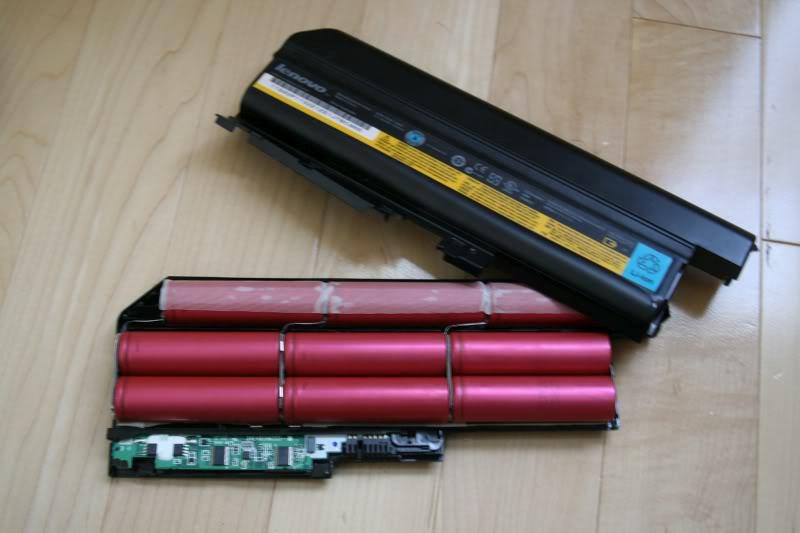 Фото Восстановление (перепаковка) батареи (аккумулятора) ноутбука 2