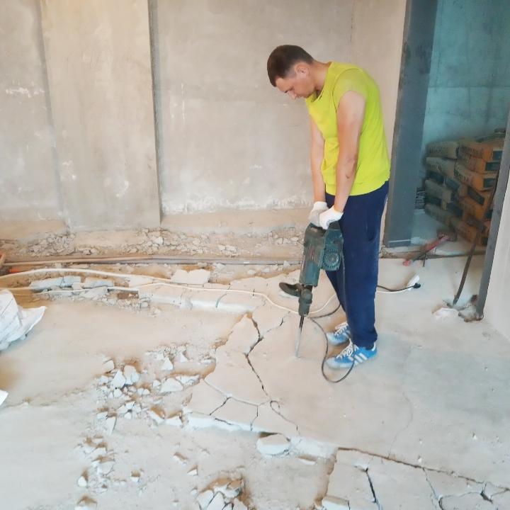 Фото Подготовка помещений к ремонту. Демонтаж 2