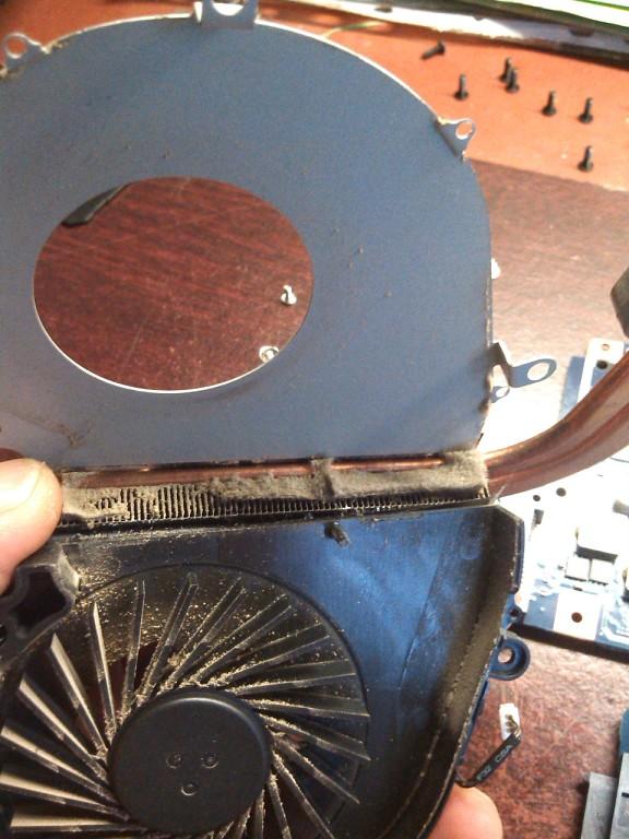 Фото Чистка ноутбука  с заменой термопасты. 1 час