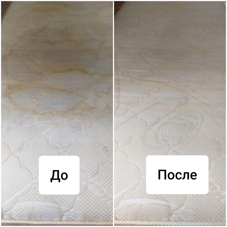 Фото Химчистка матраса с удалением запахов