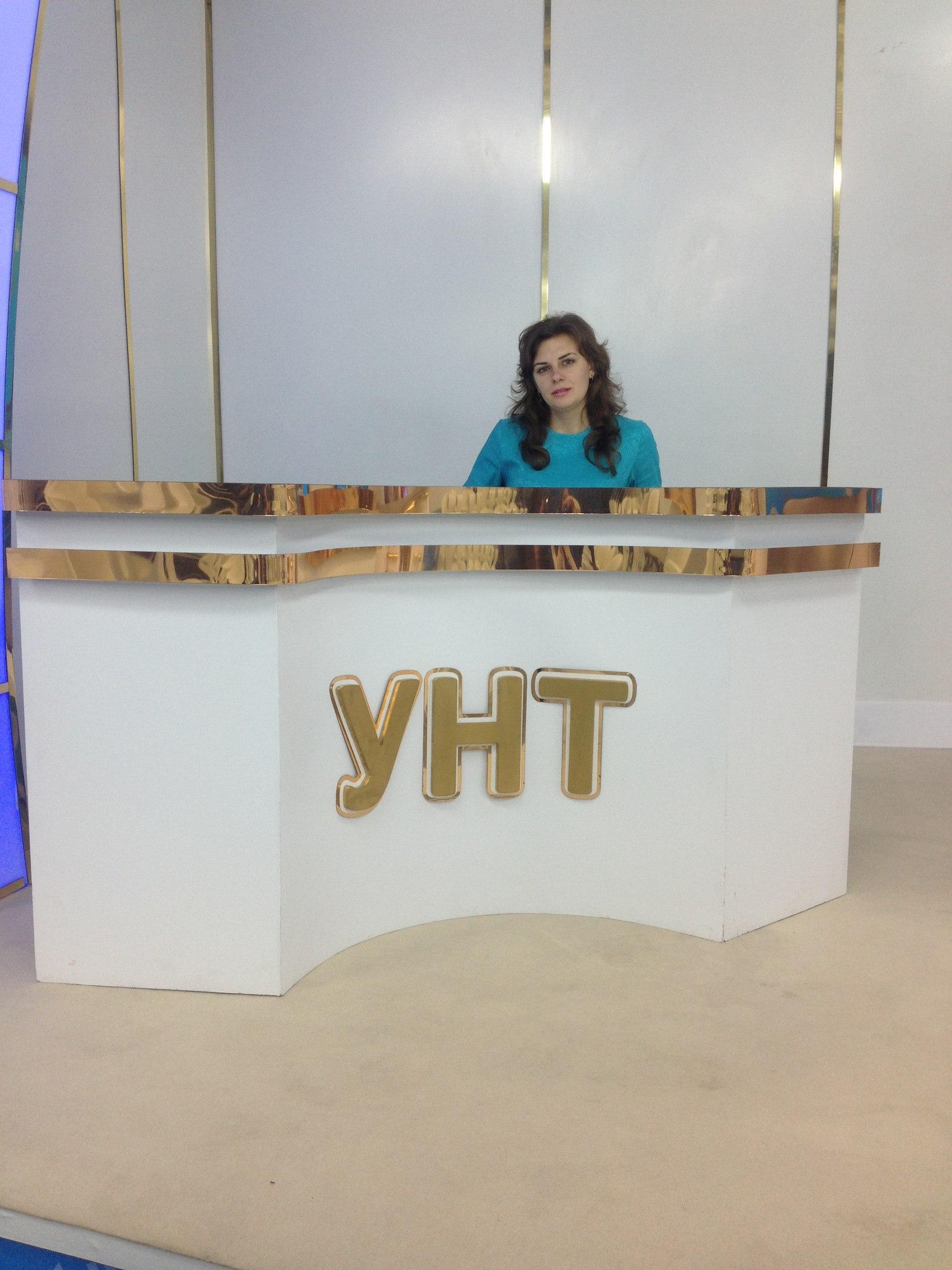Фото Участие на телеканале УНТ
