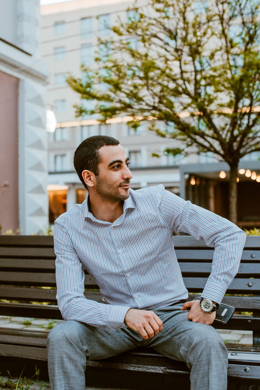 Фото Портретная съемка, мужской портрет