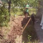 Перекопаю участок, огород.