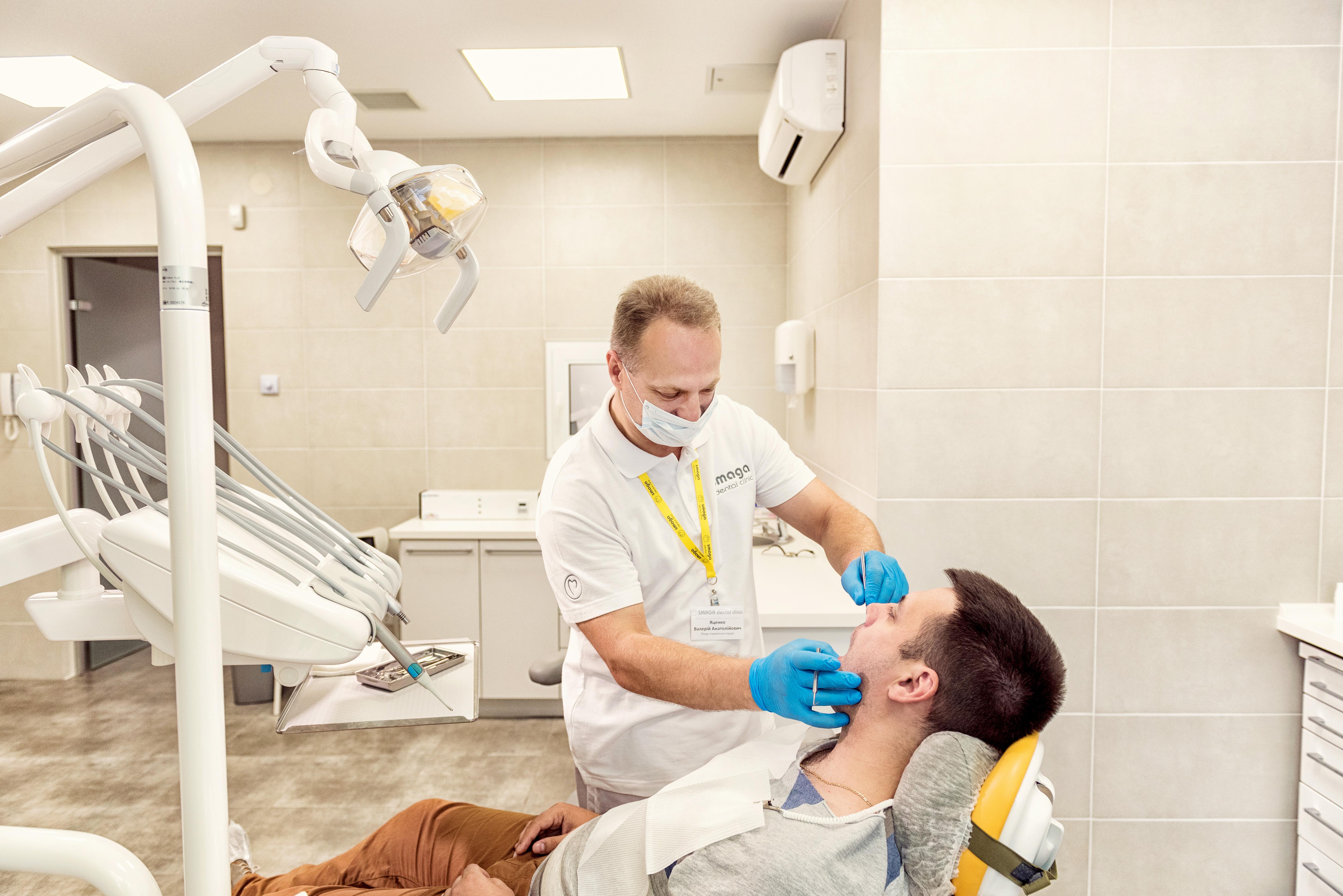 Фото Рекламне фото для сайту. Стоматологія.