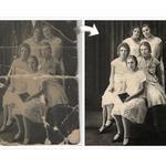 Реставрация и раскрашивание фото