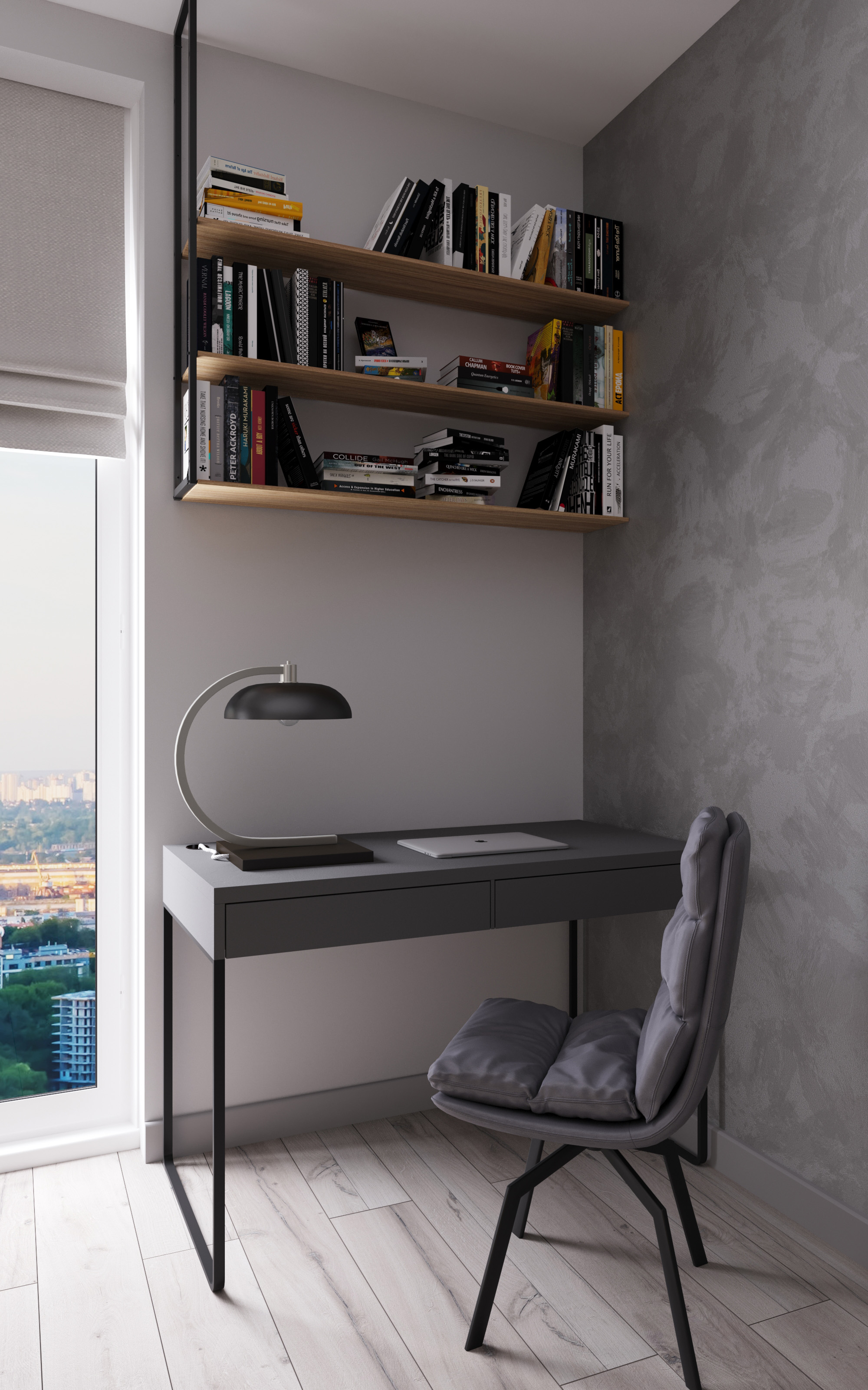 Фото Дизайн кухни-гостиной с рабочим местом