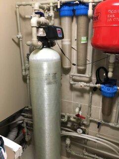 Фото Собрал узел водоподготовки ,фильтра 4 степени очистки,обвязка оборудовия.