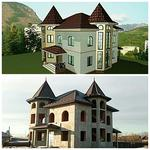 Строим дома, коттеджи, особняки.