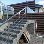 Проектування, виготовлення, монтаж перил та поручнів з нержавіючої сталі