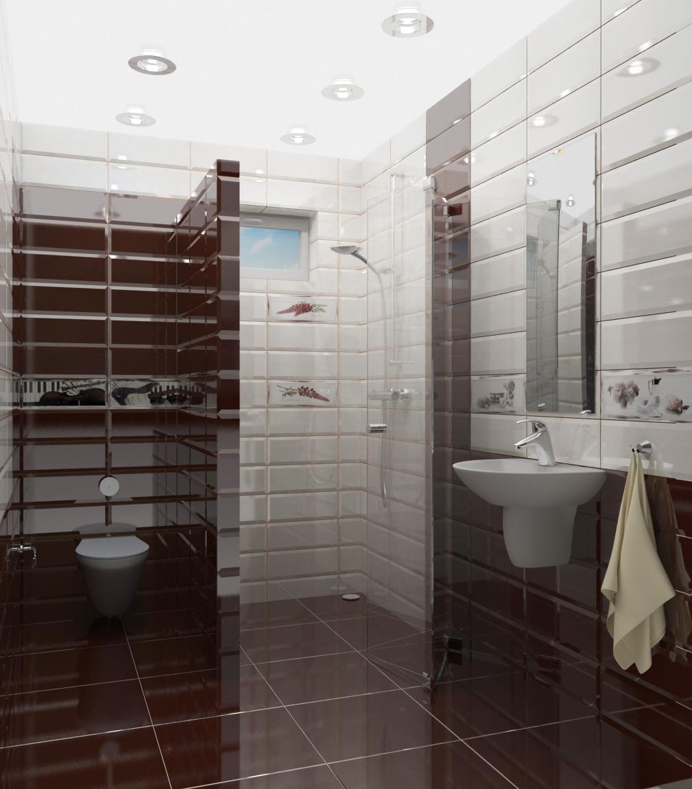 Фото Визуализация ванной комнаты в двух вариантах. Подбор материалов, просчет помещения, продажа и курирование доставки.