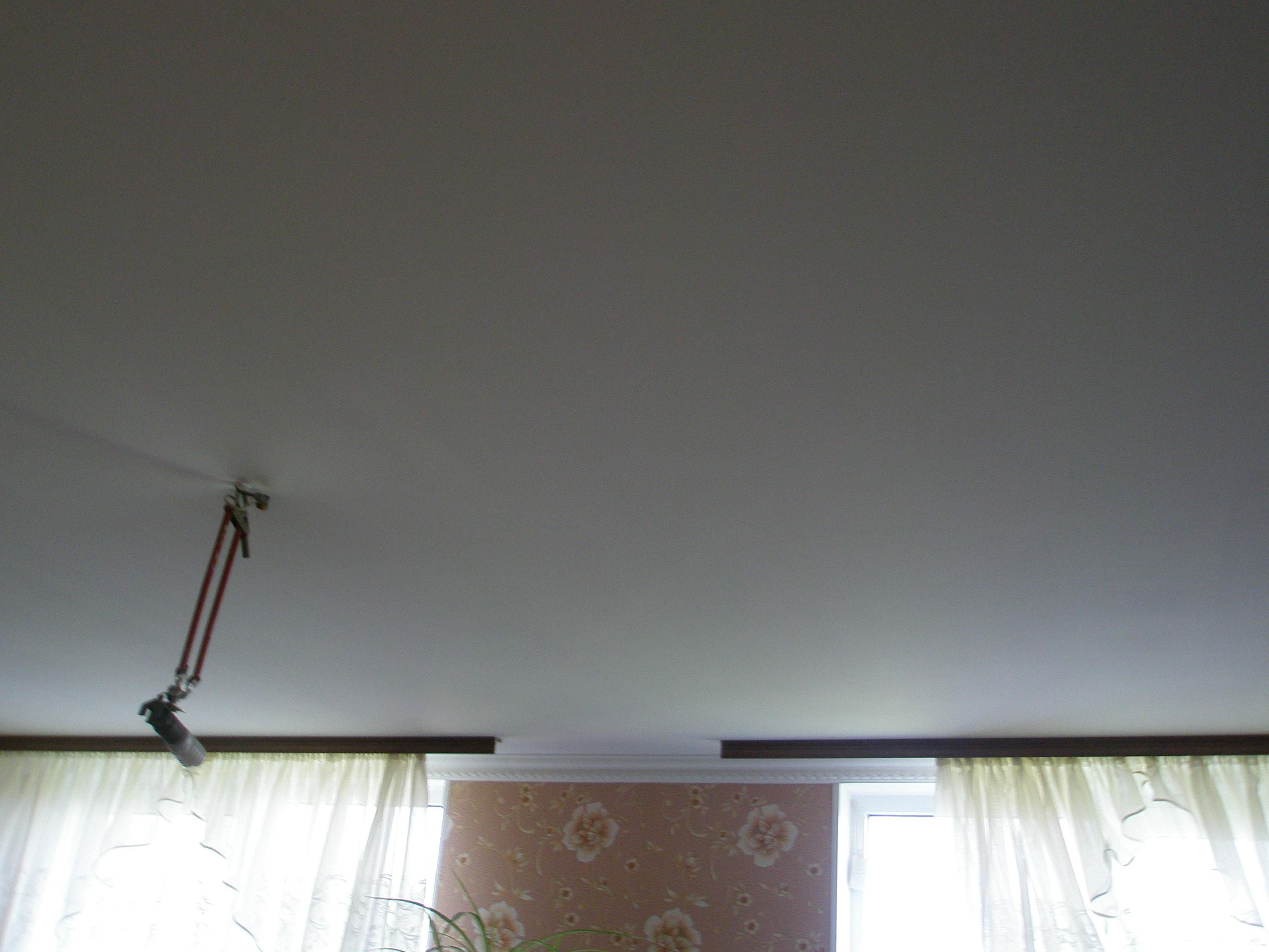 Фото Тканевый натяжной потолок 5