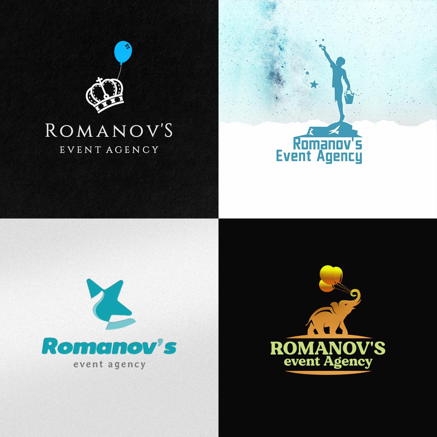 Фото Логотип для Ивент- агентства Romanovs event Agency