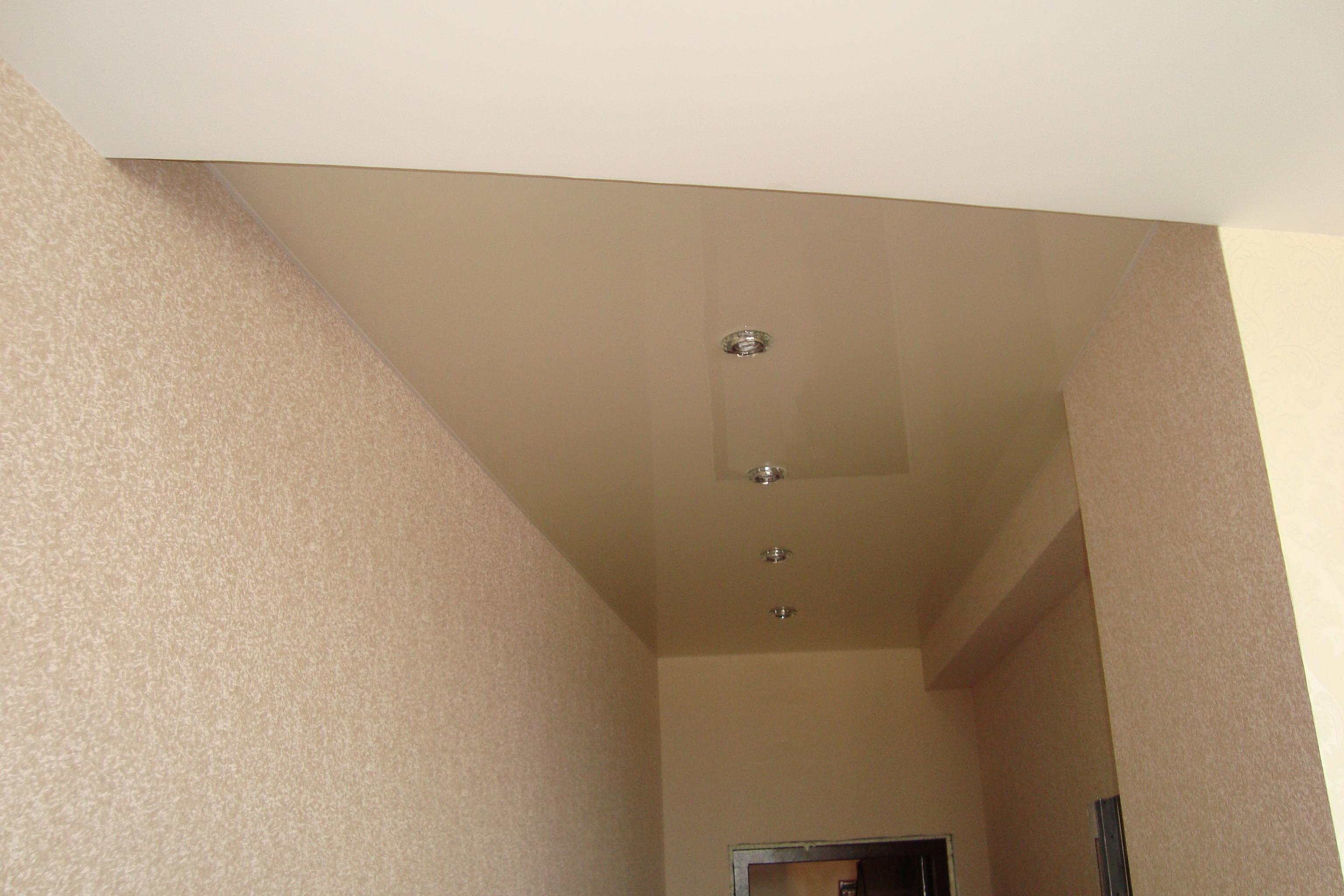 фото прихожей с бежевым потолком нашей стране буроголовая