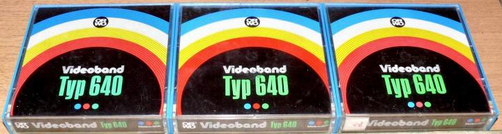 Фото Оцифровка видеокассет, киноплёнок 8 мм и 16 мм, videoband typ 640 2