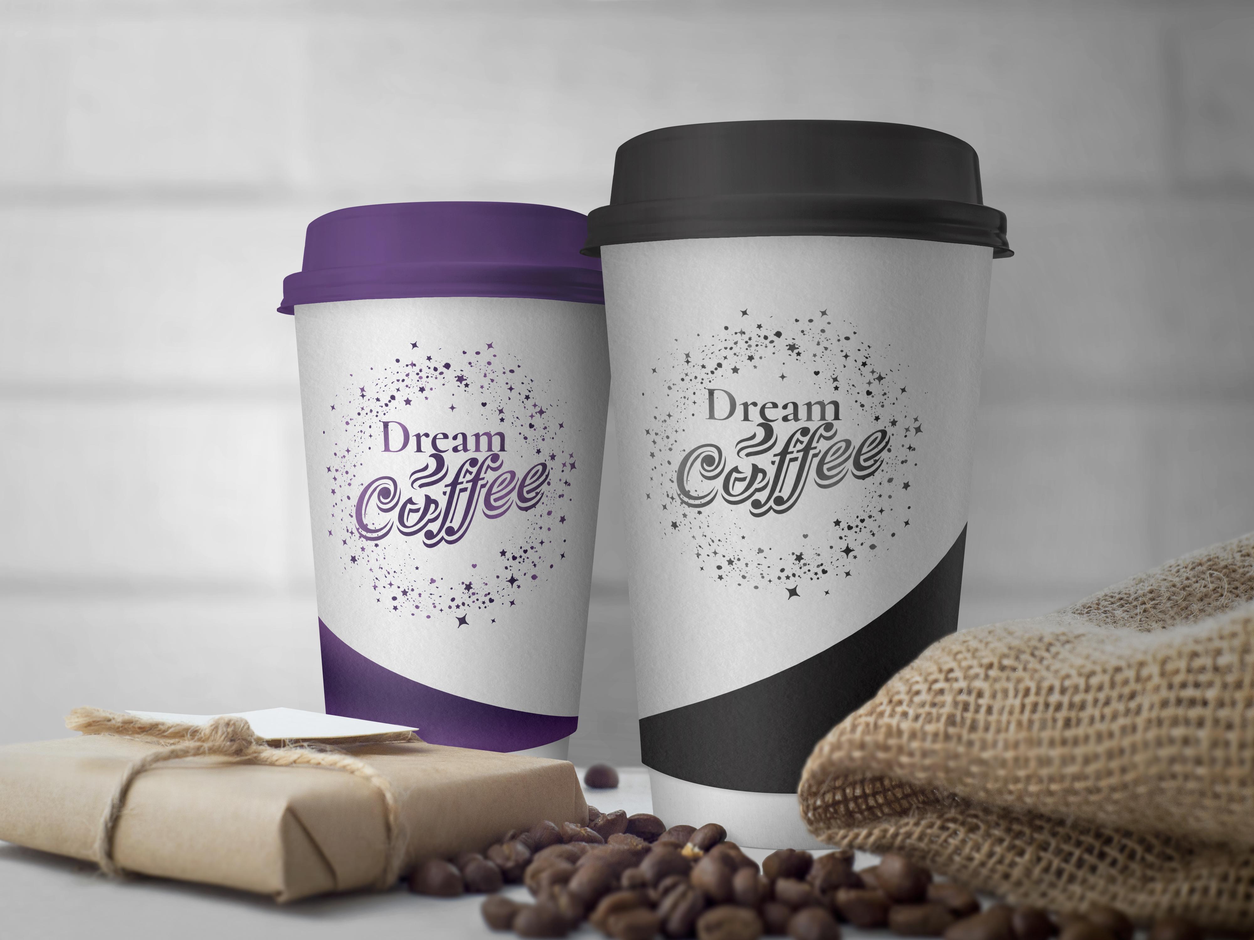 Фото Разработка логотипа для кофейни