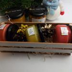 Подарочный набор №2 из 3 баночек крем-меда по 100мл