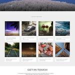 Веб-дизайн сайта для фотографа