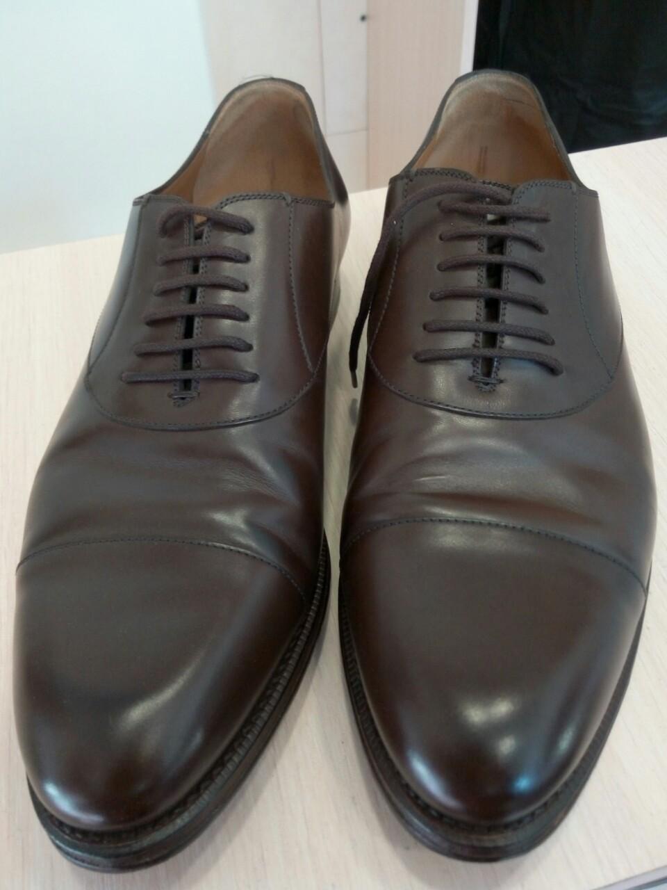 Фото Полировка верха обуви.