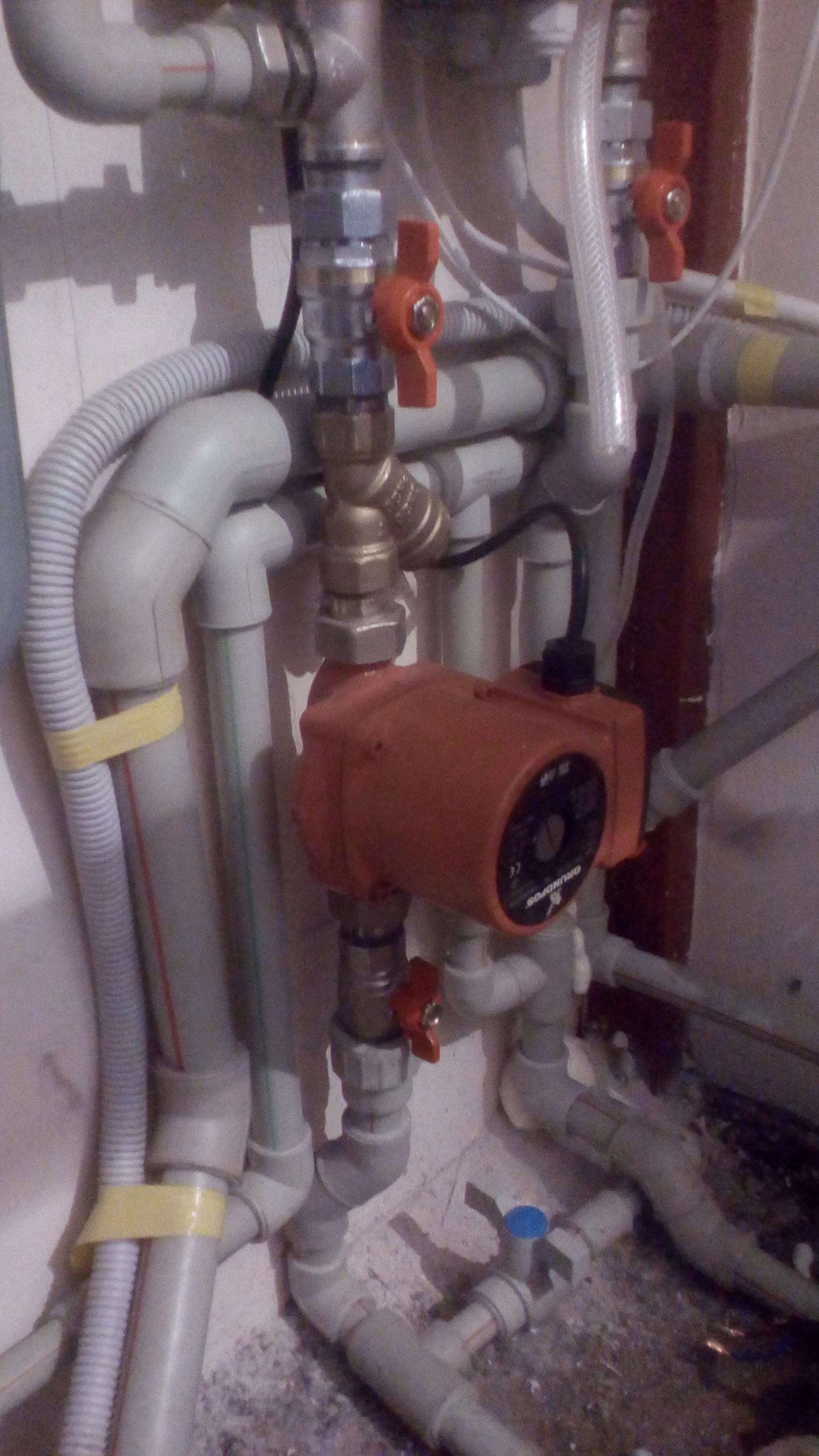 Фото Насос отопления электрокотла