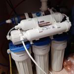 Обслуживание системы водоочистки. Замена фильтров воды.
