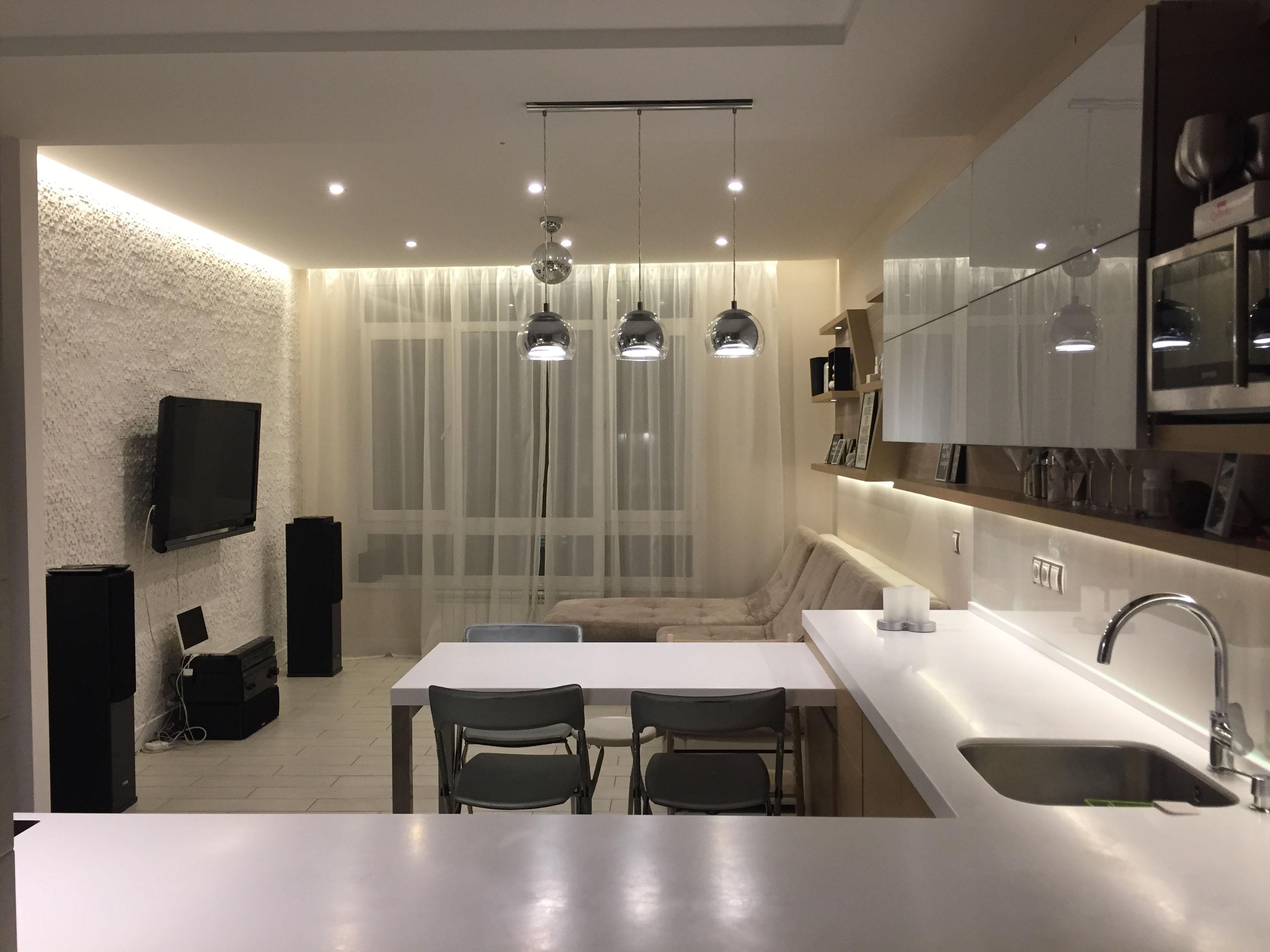 Фото Разработка дизайна интерьера, перепланировка помещения. 1
