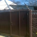 Изготовление и монтаж ворот и заборов из профнастила