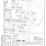 Выкопировка из топографо-геодезического плана