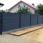 Монтаж всіх видів огорож, заборів парканів, воріт під ключ.