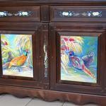 Роспись, реставрация мебели