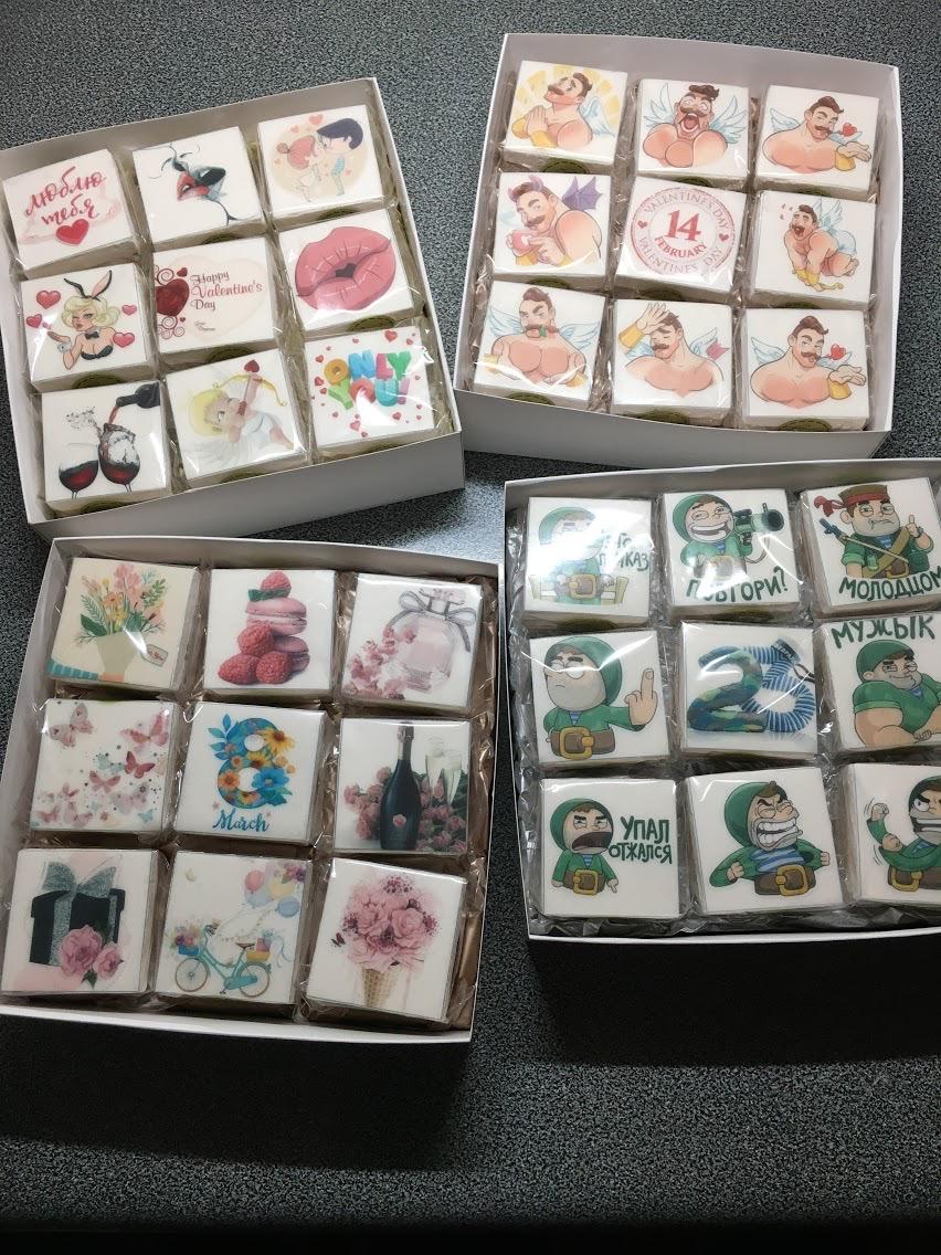 Фото Праздничные пирожные в подарочном формате!