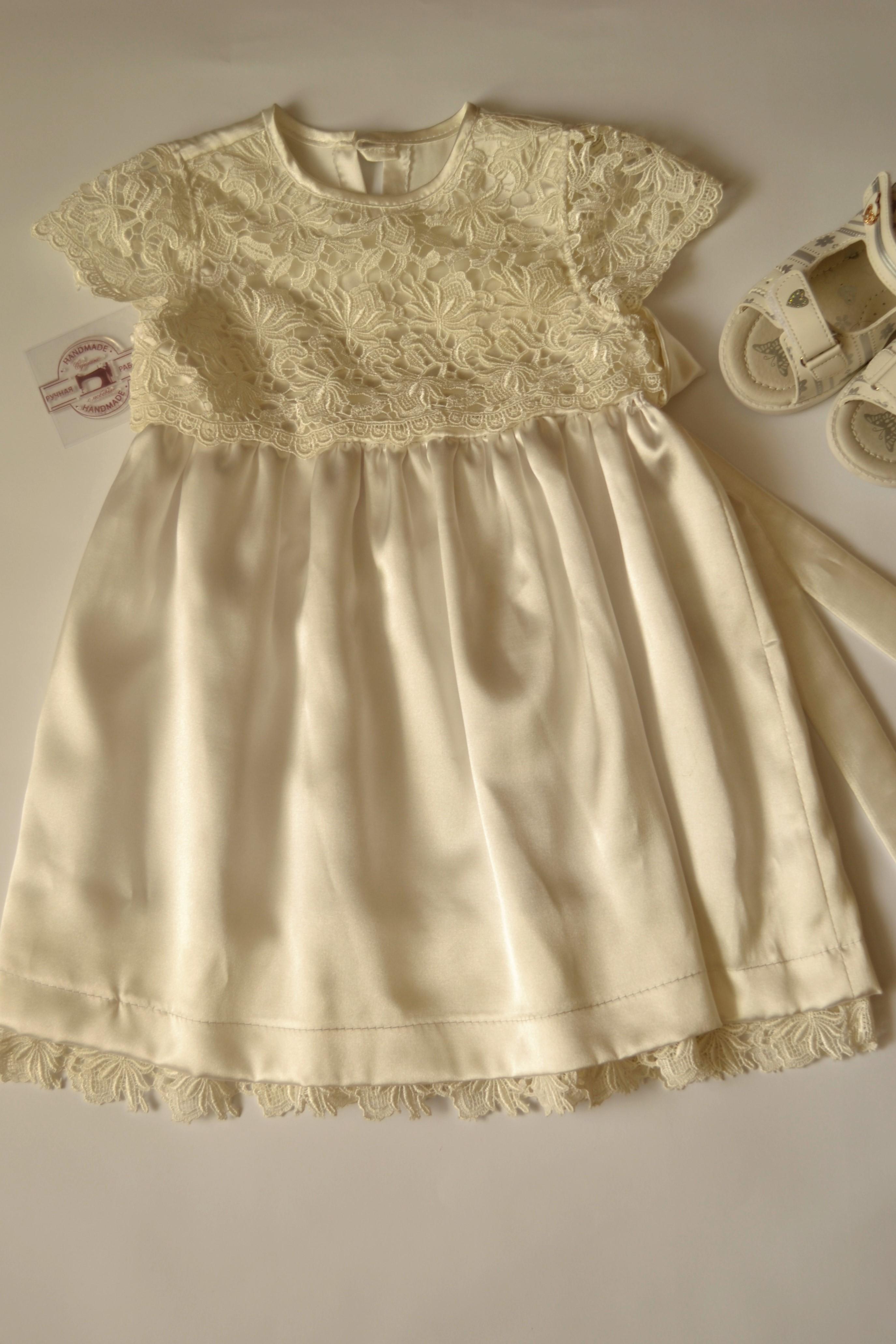 Фото Нарядное платье для ребенка.