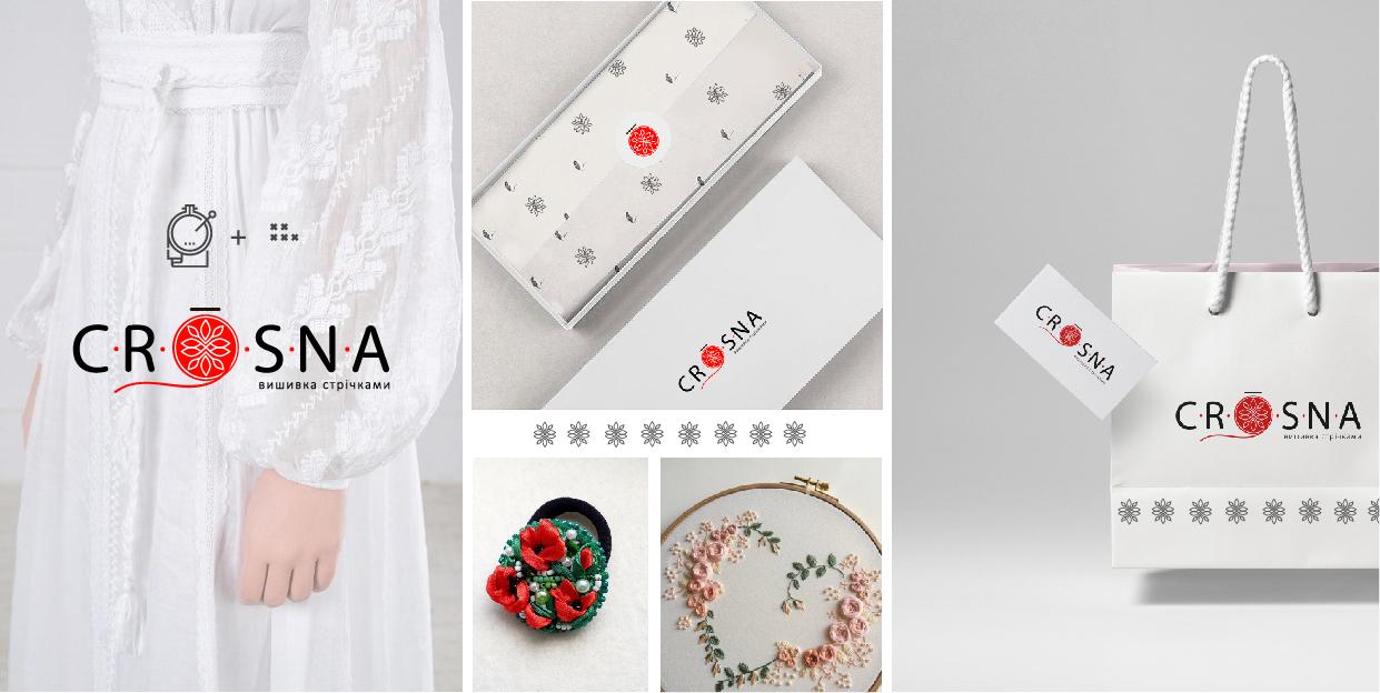 """Фото Разработка логотипа для бренда одежды """"Crosna"""""""