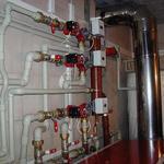 Монтаж системы отопления Установка твердотопливных котлов.
