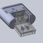 3d-модель по эскизу, модель детали путем реверс-инжиниринга, восстановление сломанной детали