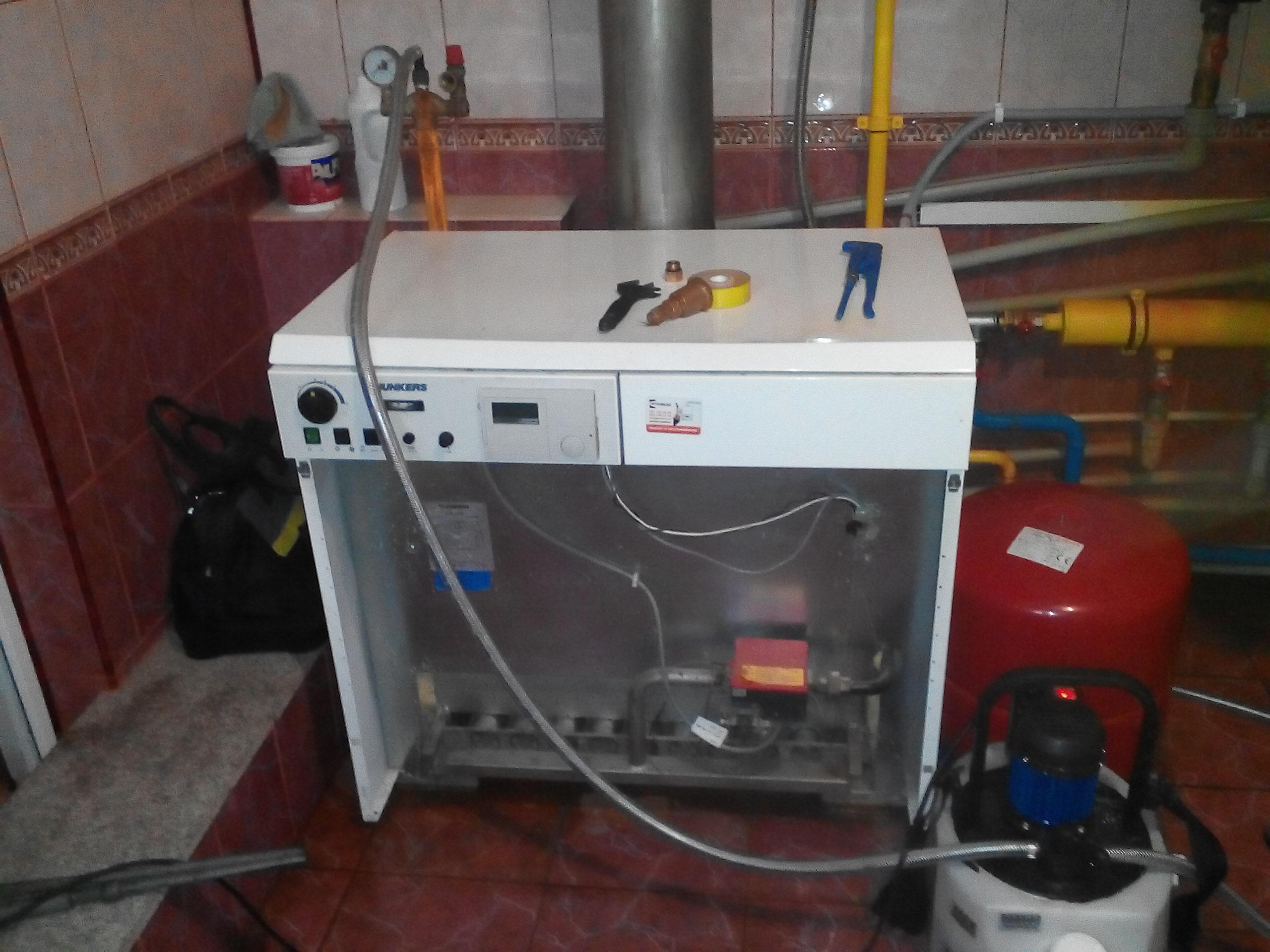 Фото кислотня промывка газового котла