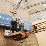 Ремонт и сервисное обслуживание вывесок и других рекламных конструкций