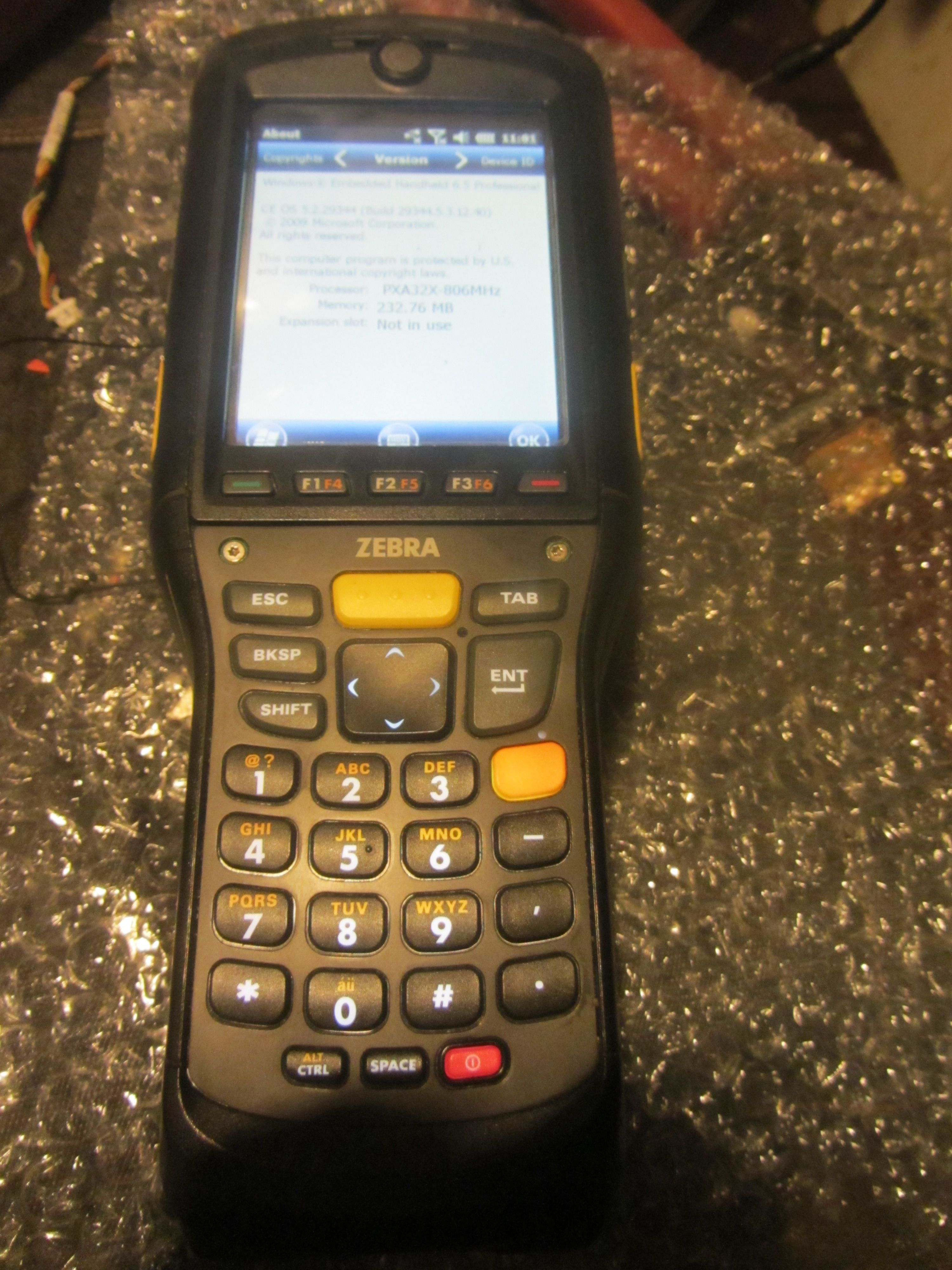 Фото Прошивка ТДС терминала Motorola 9190