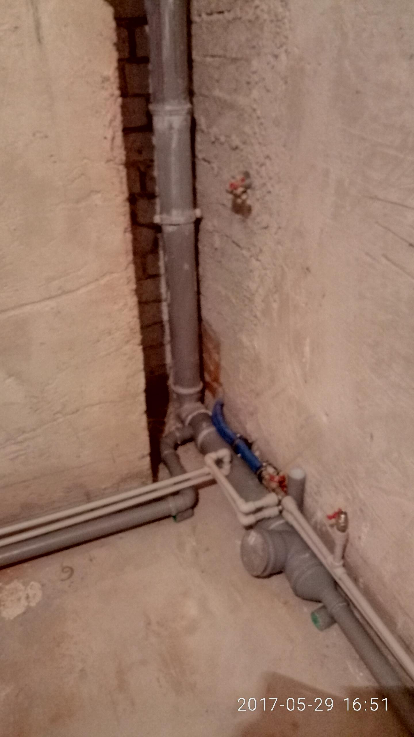 Фото монтаж канализацыи монтаж трубопровода полипропиленом