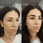 Моделирование и окрашивание бровей краской/хной