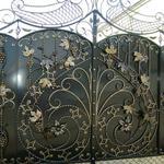 Ворота и двери ручной работы (кованные и профнастил)
