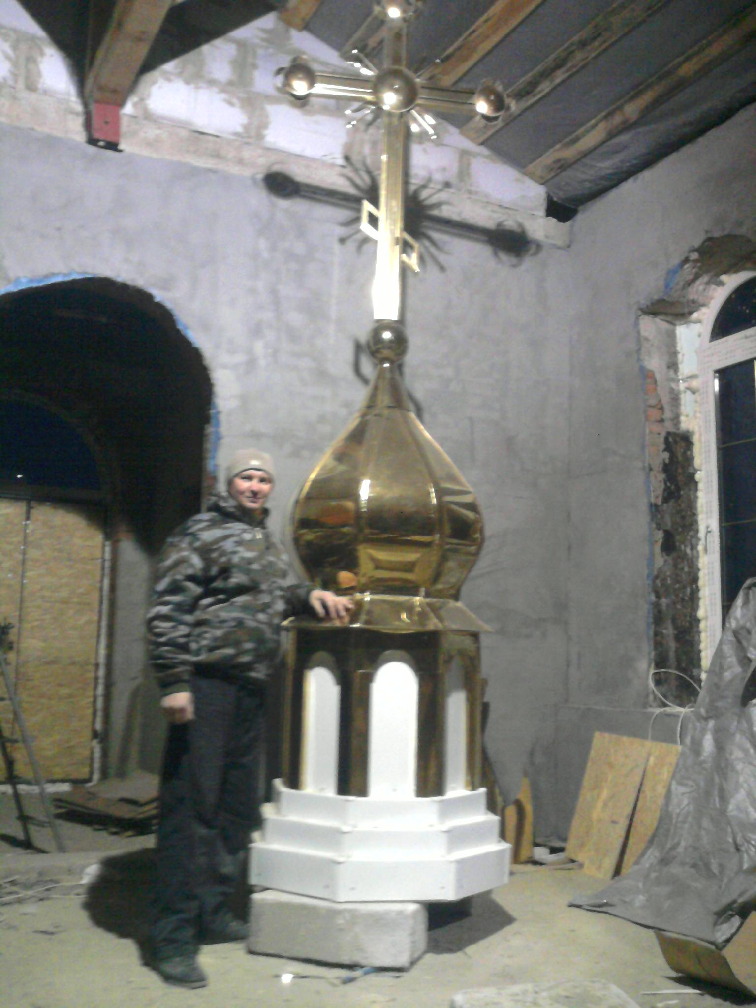 Фото Строительство храма