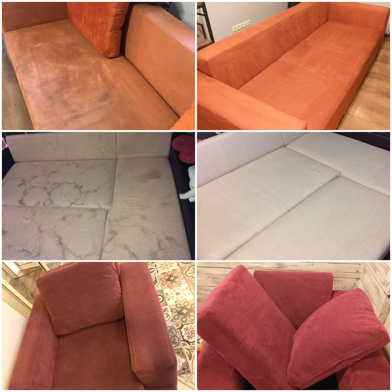 Фото Химчистка дивана, кресла