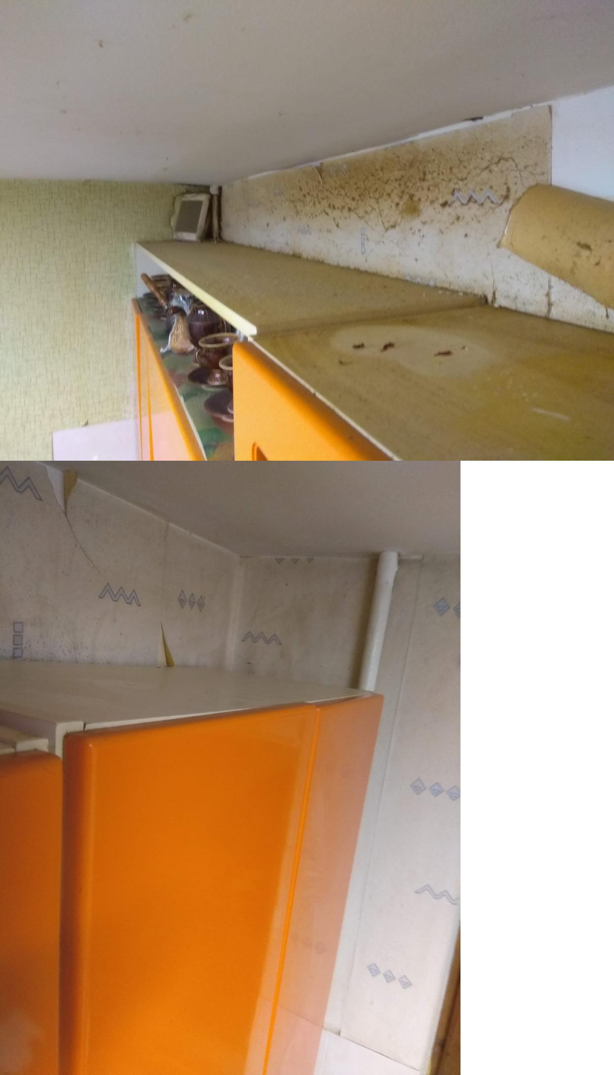 Фото Генеральная уборка кухни 11 м 2, помыть мебель (снаружи внутри), технику (газовая плитка, СВЧ, вытяжка, посудомойка, мультиварка), окно, пол (линолеум), батарею отопления, кафель, стены (моющиеся обои). Работа заняла 3,5 часа. Стоимость работ составила 600грн.