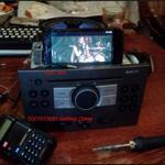 Установка підключення аукс (aux, аудіо віхід) із магнітофонів, магнітол.