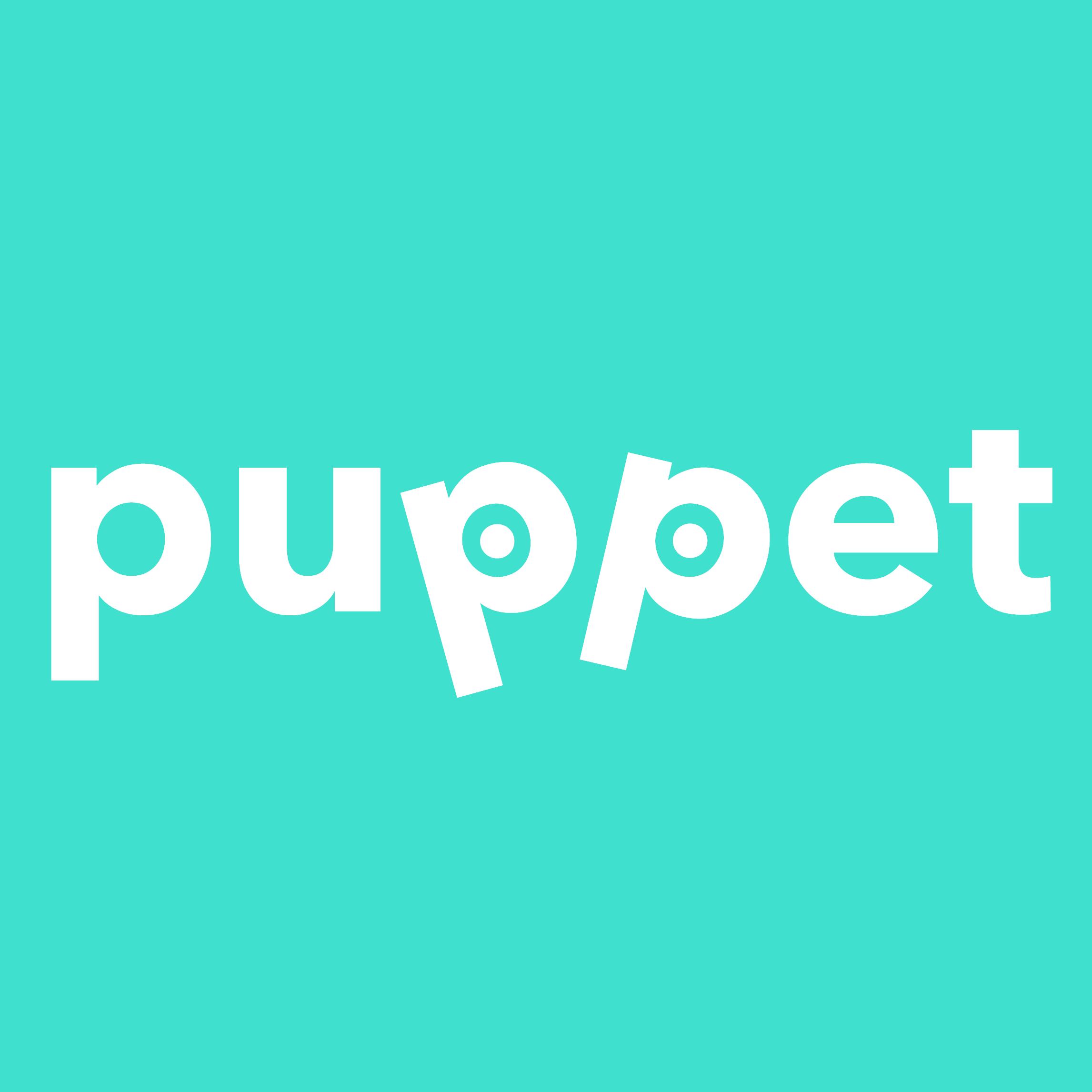 """Фото Нейминг и дизайн логотипа для торговой марки игрушек собачек-марионеток. Puppet - в переводе с английского """"марионетка"""", pet - """"домашнее животное""""."""