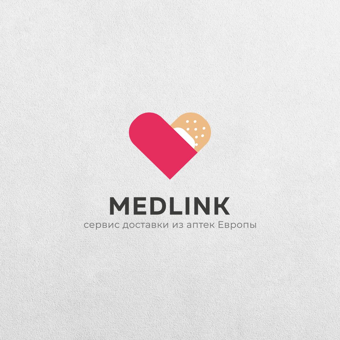 Фото Логотип для сервиса доставки медикаментов MEDLINK