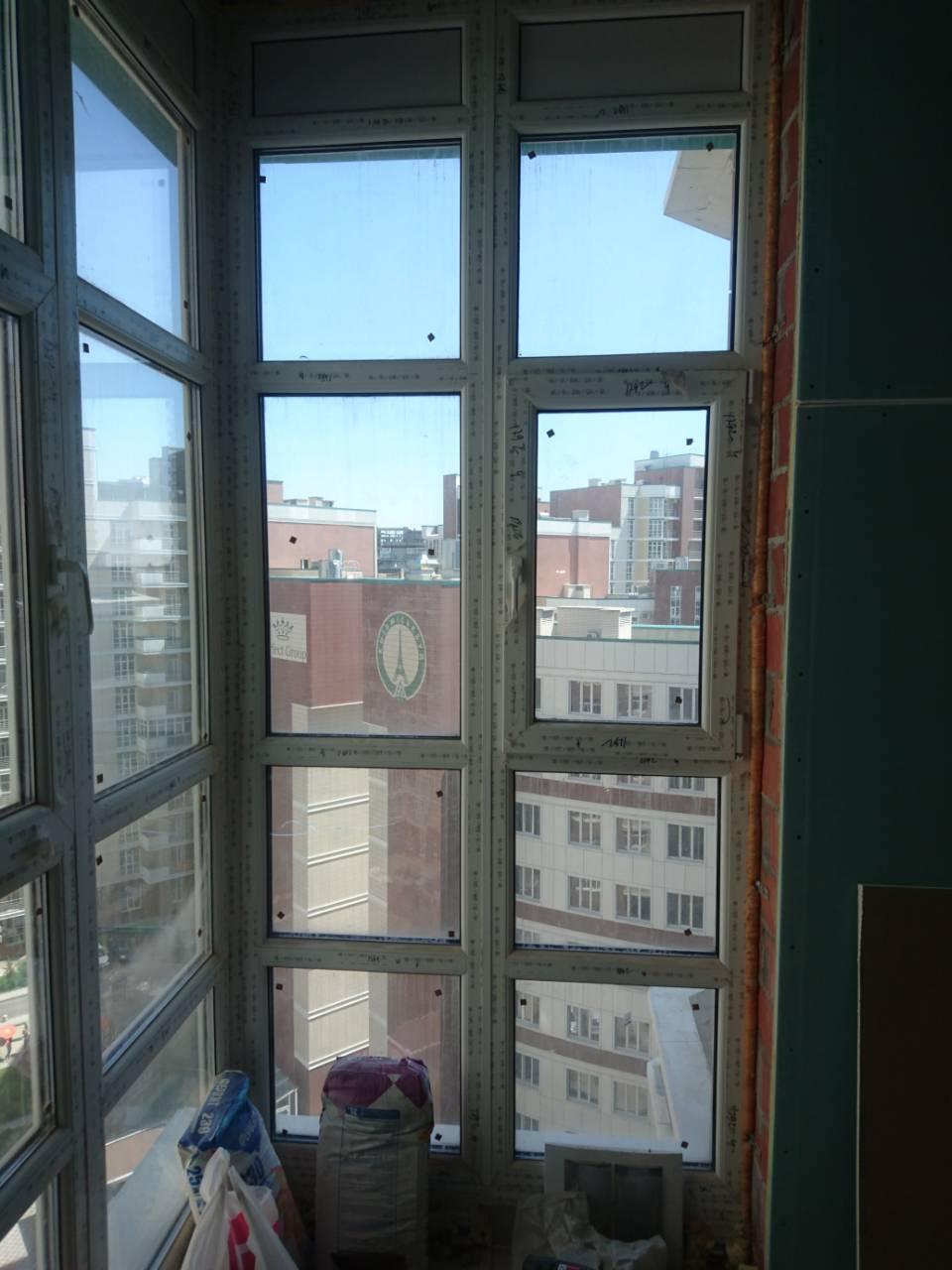 Фото Монтаж металлопластиковых окон и балконов