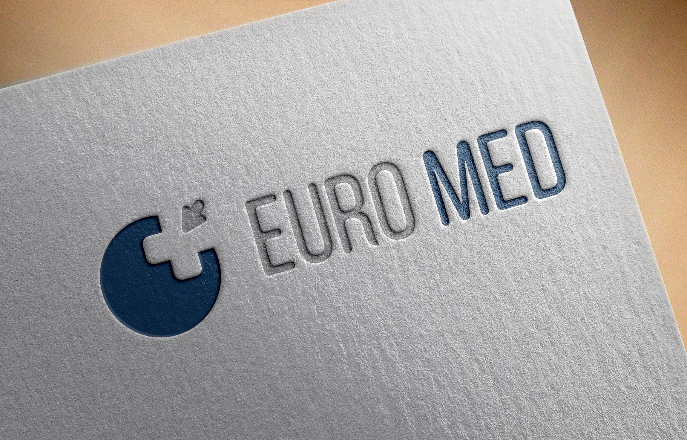 Фото Дизайн логотип для компании, занимающейся оборудованием медицинского назначения, расходными материалами, реабилитацией и телемедициной.  (Харьков)