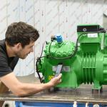 Производим ремонт промышленных холодильных компрессоров Bitzer