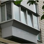 Балкон под ключ киев, остекление, вынос, обшивка, утепление балкона.